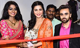 Shruti Haasan launches Neeru's the First Flagship Family Store in Chennai