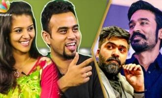 Simbu, Dhanush : Real Face Behind the Stage - Mirchi Vijay, Swathista Interview