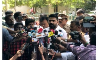 Simbu gives status about Manzoor Ali Khan after Commissioner visit