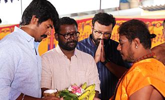 Sivakarthikeyan Productions New Movie Pooja