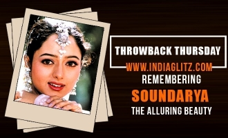 Throwback Thursday! Remembering Soundarya the alluring beauty