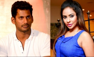 Sri Reddy says sorry to Vishal