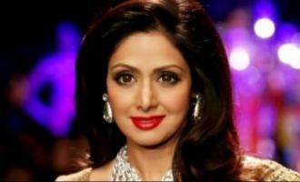 Popular actress replaces Sridevi
