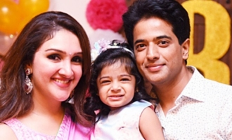 Sridevi Vijaykumar, Rahul's Daughter Baby Rupikaa 2nd Year Birthday Celebration