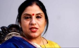 Sripriya's 'comedy' response to minister for attacking Kamal Haasan