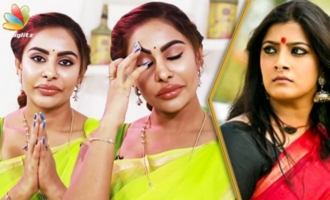 I'm Going to Settle in Chennai : Sri Reddy Broke Down in Tears