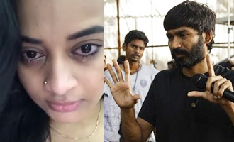 Dhanush makes Malayali actress Suja Varunee cry