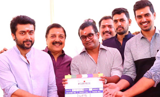 Suriya36 New Movie Poojai