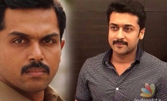 Suriya all praise for Karthi's cop thriller