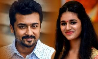 Will Priya Prakash Varrier romance Suriya in his next?