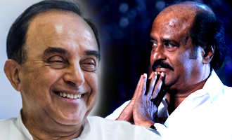 Swamy warns Rajinikanth against entering politics