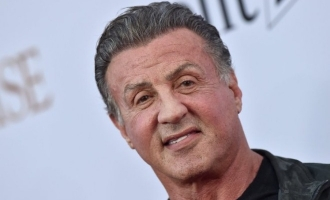 Sylvester Stallone reacts to his