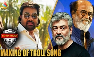 Making of 'Tamizh Padam 2' Troll Song | Music Director Kannan and Lyricist Interview