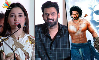 No one can be Bahubali other than me : Prabhas Speech | Tamanna Bhatia at Press Meet