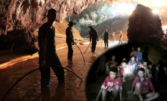 The Brave Heroes of Thai Cave Rescue mission