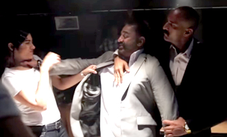 'Thoongaavanam' Behind The Scenes