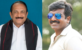 Makkal Selvan next to Nadigar Thilagam - Vaiko heaps praises