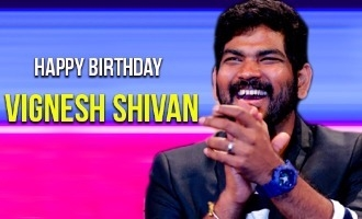 Happy birthday Vignesh Shivan!