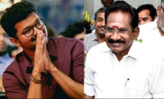 Sellur Raju comments on 'Future Chief Minister Vijay' posters