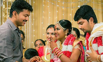 Vijay at ARMurugadoss 's Asst Director Wedding