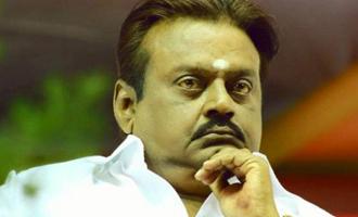Reason for DMDK leader Vijayakanth's hospitalization