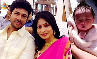Actress Vijayalakshmi blessed with baby boy
