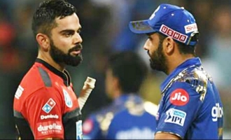 Unique records by Kohli, Rohit Sharma in MI's win over RCB on Tuesday