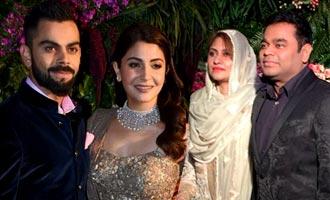 Virat Kohli And Anushka Sharma's  Mumbai Reception