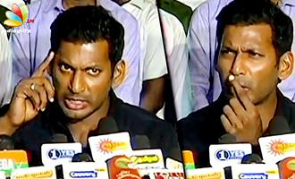 Vishal reveals