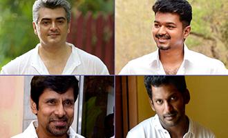 Will Ajith, Vijay and Vikram accept Vishal's master plan?