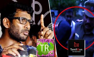 ARRESTED! Tamil Gun Admin in police custody