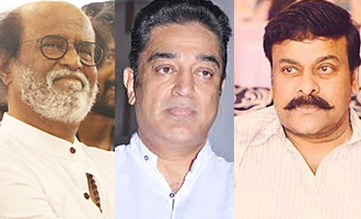 Rajinikanth, Kamal Haasan and Chiranjeevi's show of respect