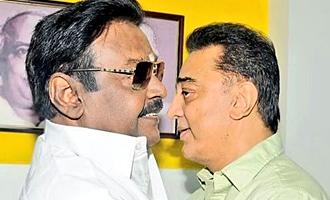 Kamal Haasan met Vijayakanth