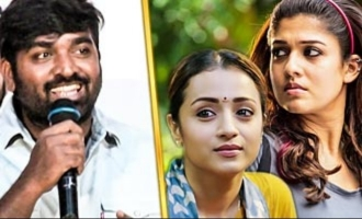 Who is beautiful? Trisha or Nayanthara: VIjay Sethupathi's open talk