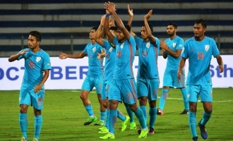 Indian football team moves up tremendously in FIFA world rankings