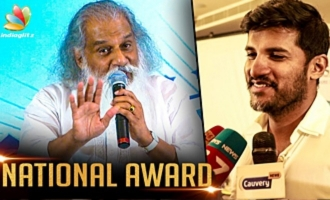 NATIONAL AWARD : My Son Hugged me after knowing about it - Yesudas Speech