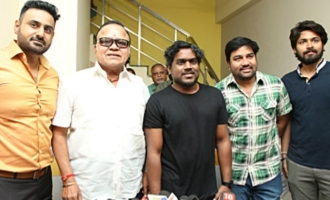 Yuvan Launches Green Apple Productions Studio