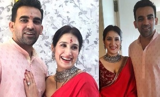 Cricketer Zaheer Khan marries long-time girlfriend Sagarika Ghatge