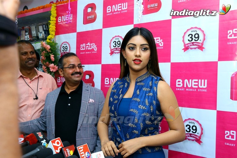Anu Emmanuel Launch B New Mobile Store