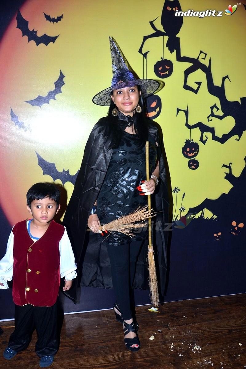 Events - Nara Brahmini, Vishnu Manchu @ Halloween Party at Kids ...