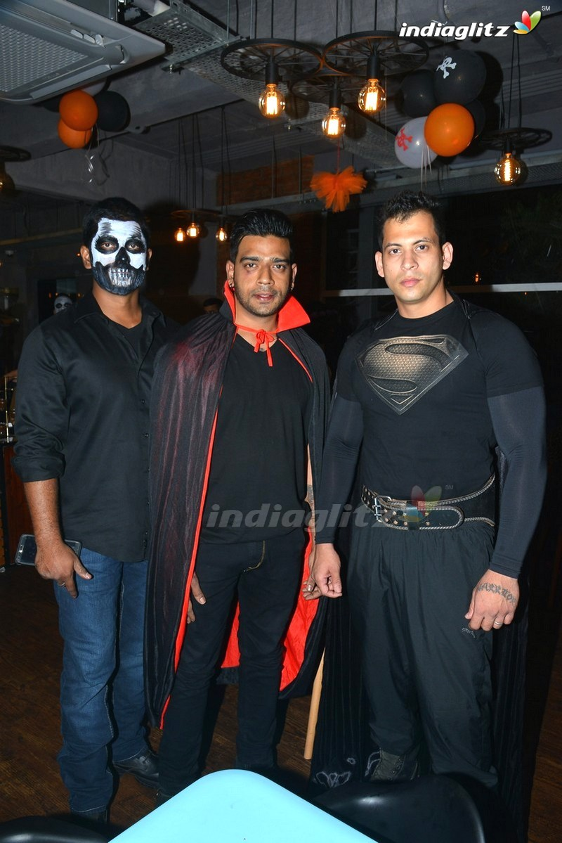 Events - Nara Brahmini, Vishnu Manchu @ Halloween Party at Kids ...