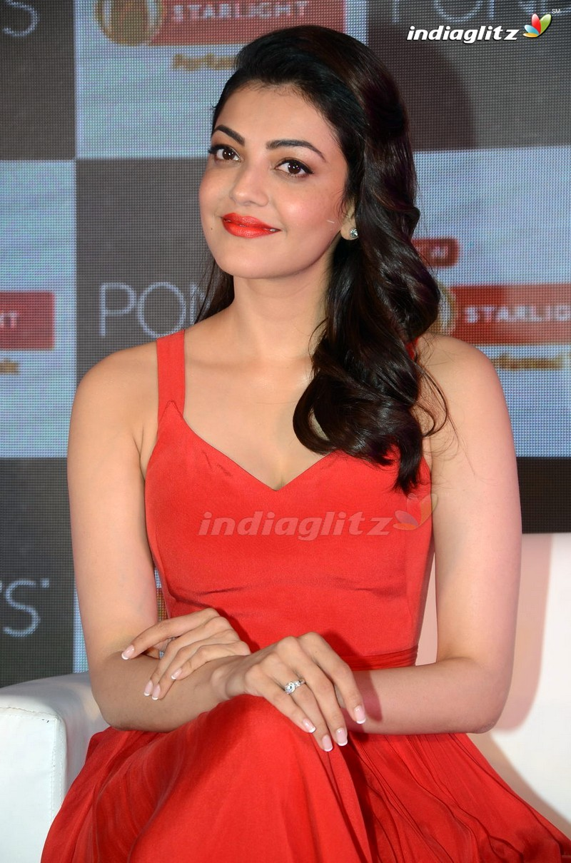 events - kajal aggarwal launches new ponds starlight perfumed talc