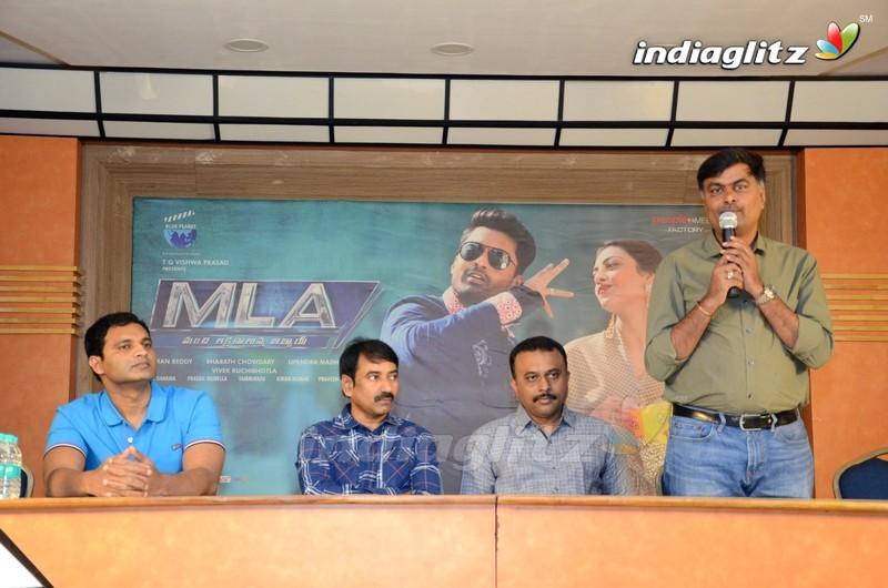 'M L A' Press Meet