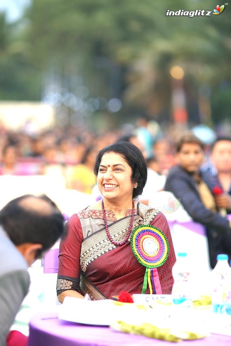 Mohan Babu At Sree Vidyanikethan Silver Jubilee Celebrations