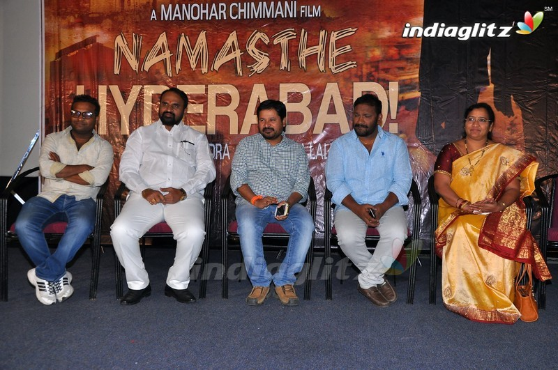 'Namasthe Hyderabad' Logo Launch