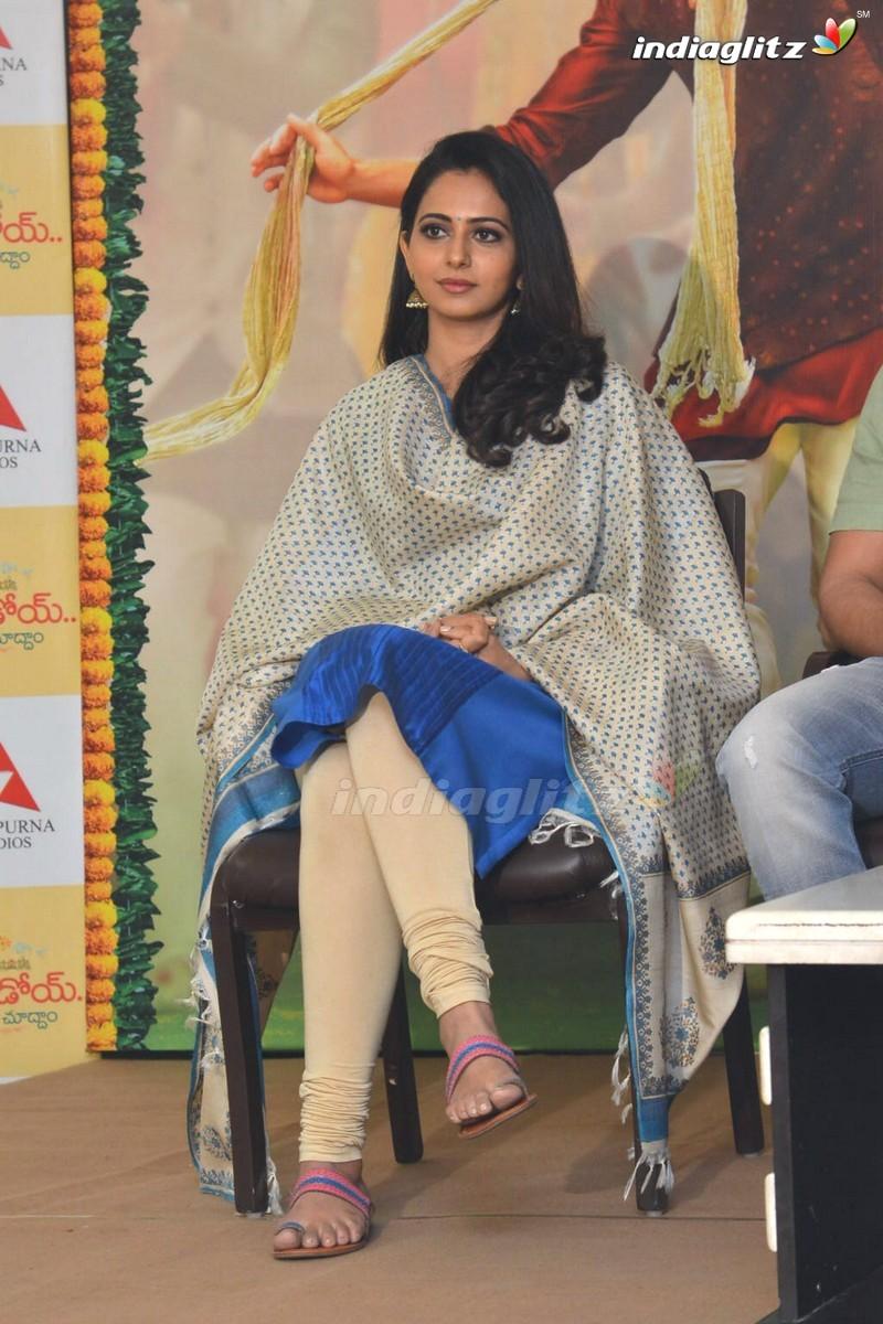 'Rarandoi Veduka Chudham' Press Meet
