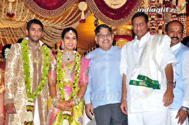 Celebs Superstar Krishna Brothers Son Wedding Photos