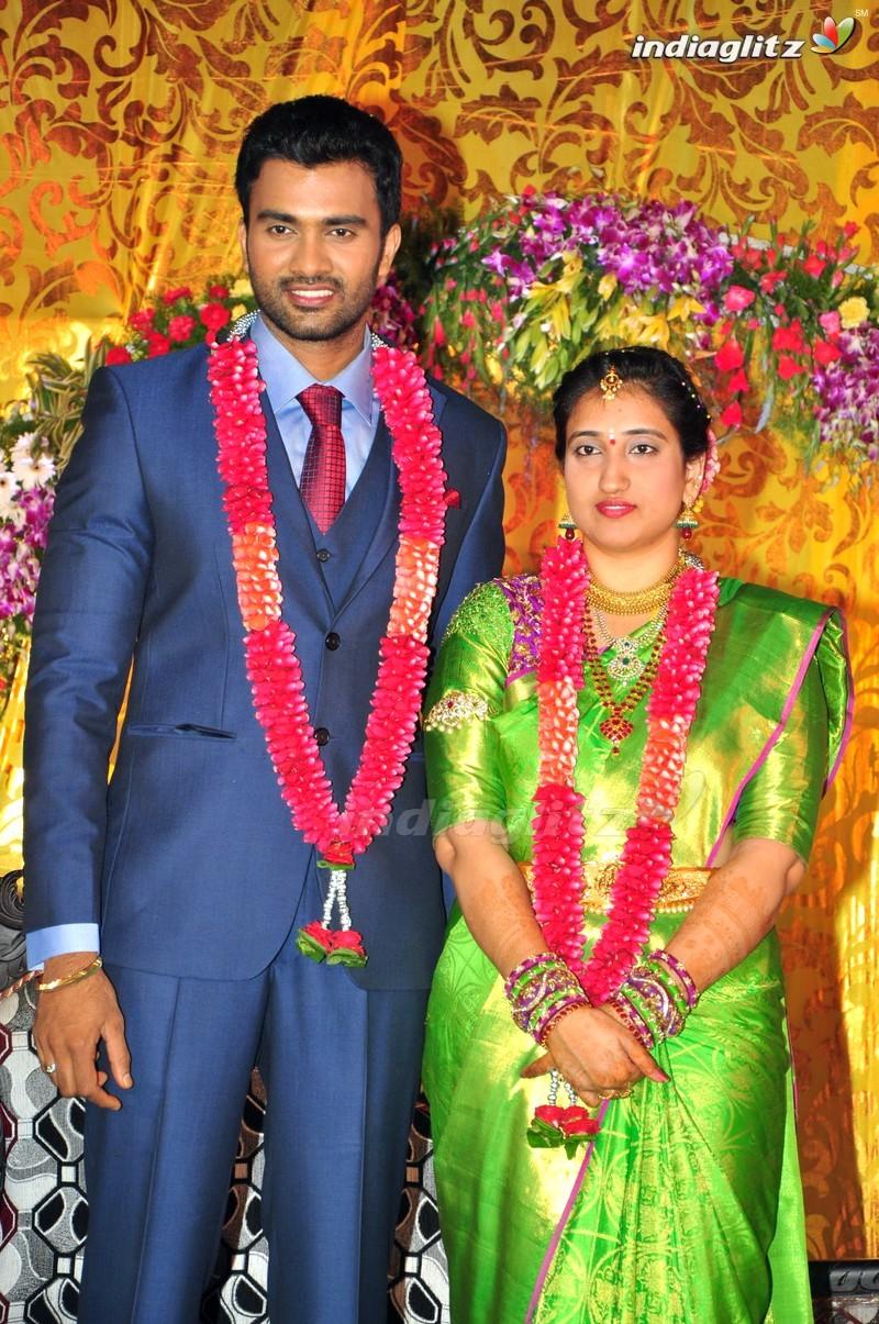 Celebs Producer Mallikarjuna Rao Son Hero Shiva Wedding Reception