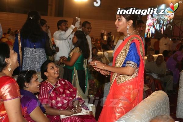 Tsr grandson rajiv wedding
