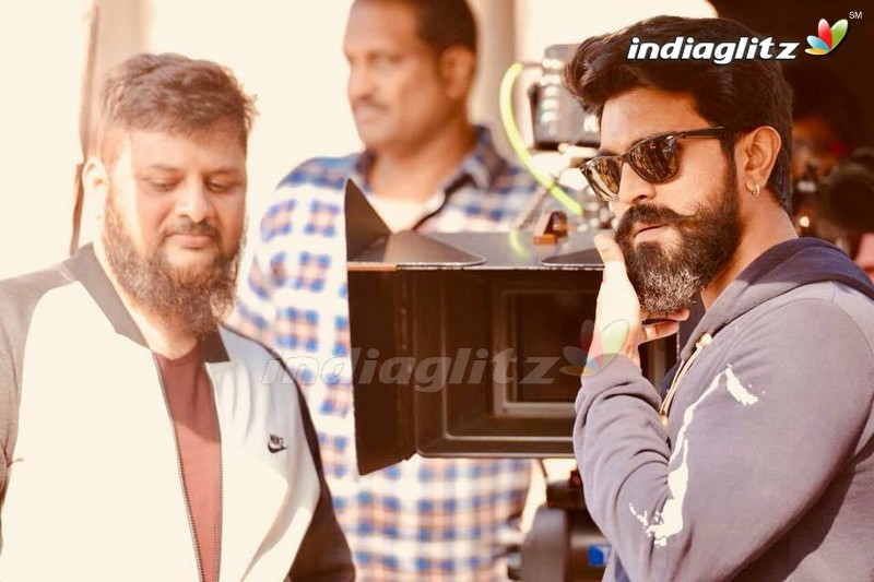 'Sye Raa Narasimha Reddy' Working Stills